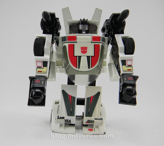 Transformers Wheeljack G1 - modo