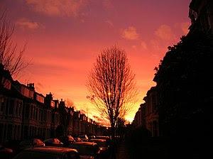 Dawn over Bristol, viewed from Henleaze (best ...