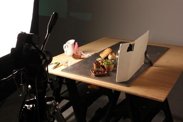Siempre ser primavera el food styling qu es a no dejarnos enga ar por las fotos for Interior photography lighting setup