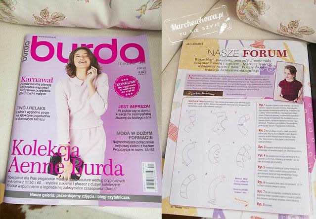 marchewkowa, blog, szycie, krawiectwo, artykuł, instrukcja, Burda 1/2013