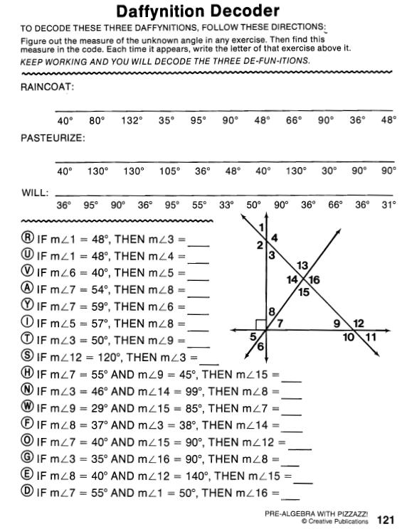 Worksheet Daffynition Decoder Answer Key - best worksheet