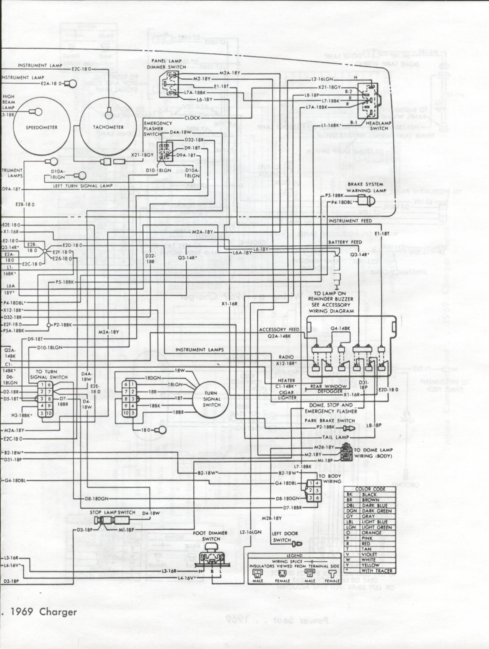 69 Gto Dash Wiring Diagram
