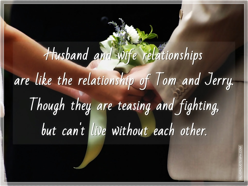 Quotes About Relationship Husband And Wife 29 Quotes