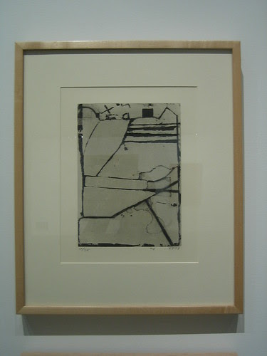 #4, 1978, Aquatint, Etching, and Drypoint, Richard Diebenkorn, Oakland Museum of California _ 9609