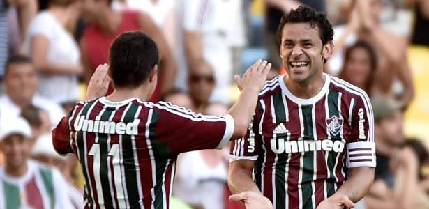 Conca e Fred são os dois maiores ídolos do Fluminense na atualidade