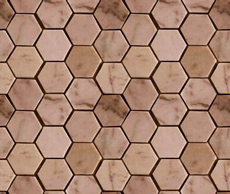 brown hexagon tile background seamless background