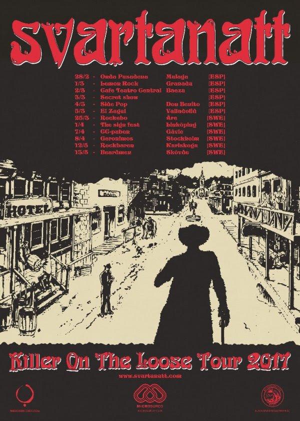 Svartanatt's Tour Poster