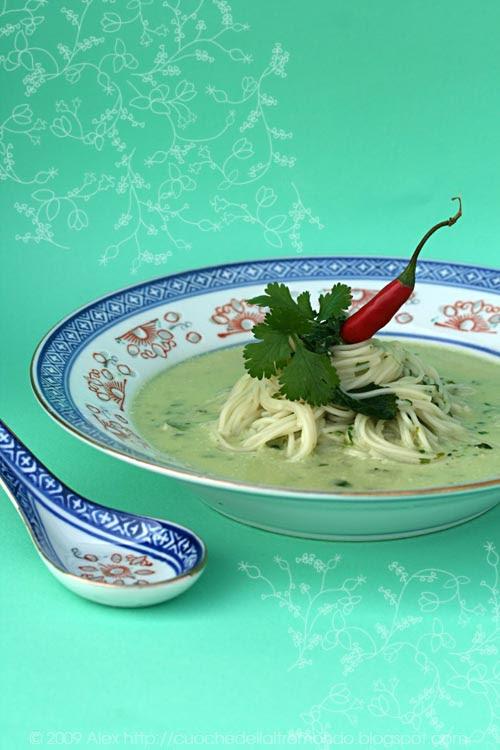 Zuppa di coriandolo