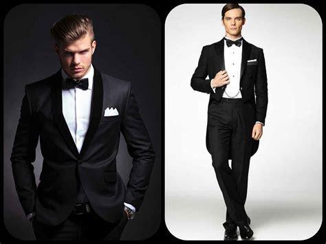 white tie  black tie event attire  men