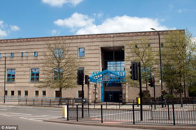 Shocking: The woman was made to relive her terrifying ordeal at the hands of Mohammed Azim, 31,at Wolverhampton Crown Court