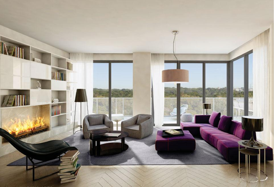 Interior Design Features of Mansouri Livings The Perry Urban Toronto - A Contemporary Condo With Timeless Appeal In Toronto