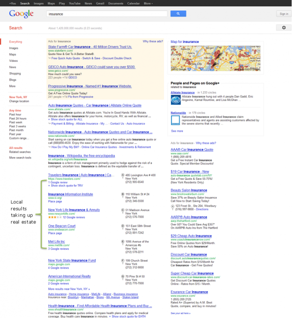 insurance google