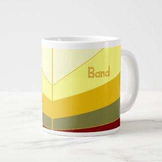 Mug/Becher: The Big Print Band Method 20 Oz Large Ceramic Coffee Mug