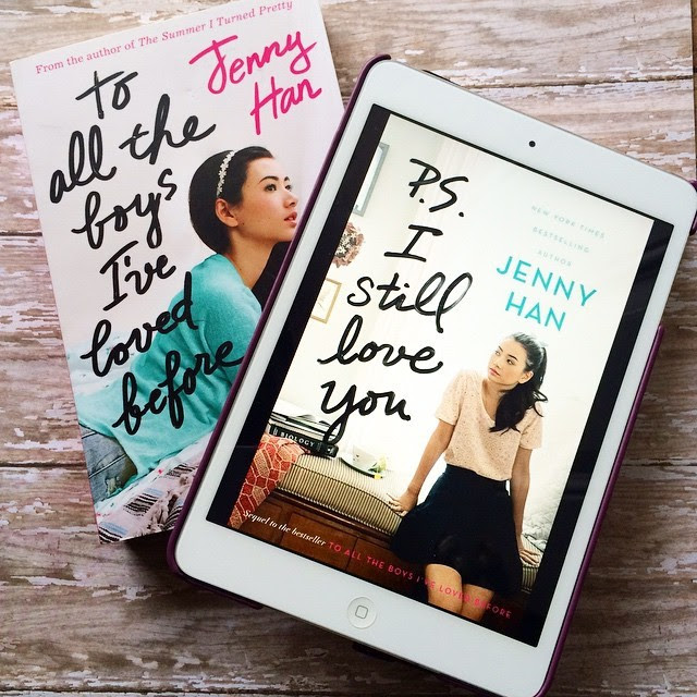 Have you seen the cover for Jenny Han's *P.S. I Still Love You* yet?? I loooooove the covers for these books!! So adorable. My copy has been officially preordered!! — #jennyhan #psistillloveyou #toalltheboysilovedbefore #simonteen