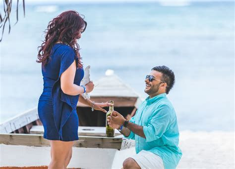 Marriage proposal in the Dominican Republic   Caribbean