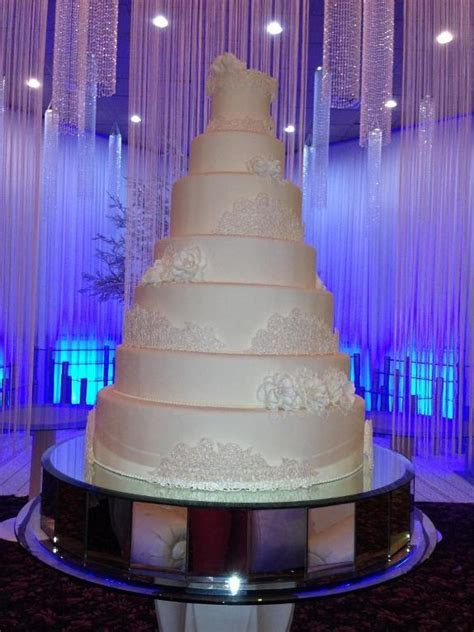 You have to see Biggest wedding cake I have ever made by