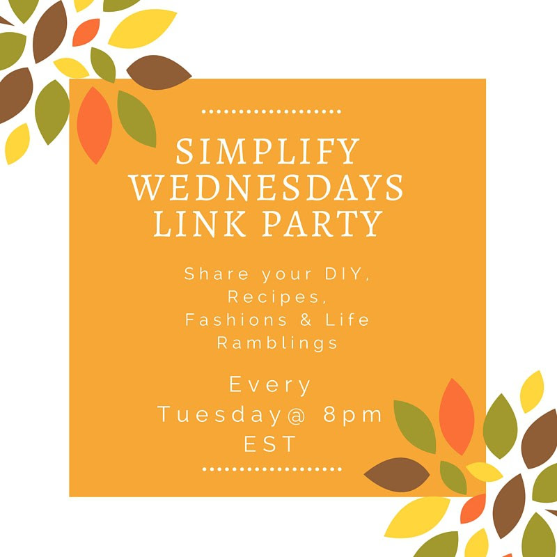 Simplify Wednesdays Link Party