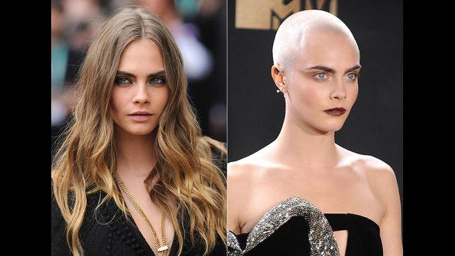 11 Berühmte Frauen Die Auch Mit Glatze Großartig Aussehen