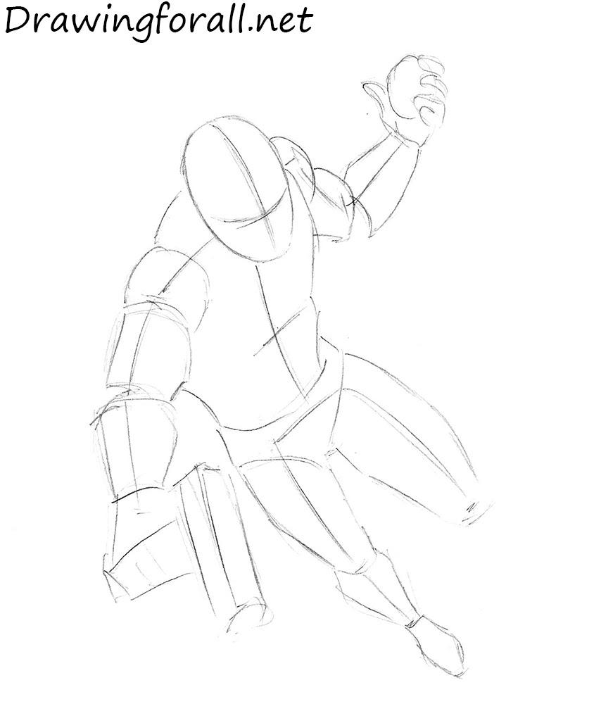 Superhero Drawings Step By Step Drawing Art Ideas
