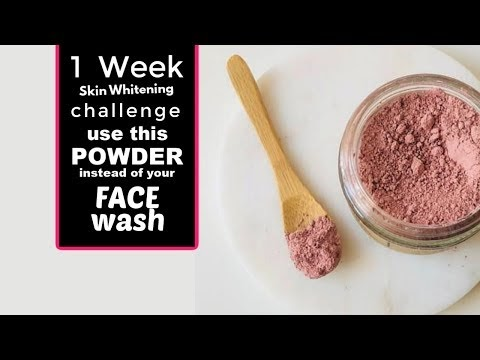 Instead of face wash use this powder on your face and see the difference  home remedies for glowing skin