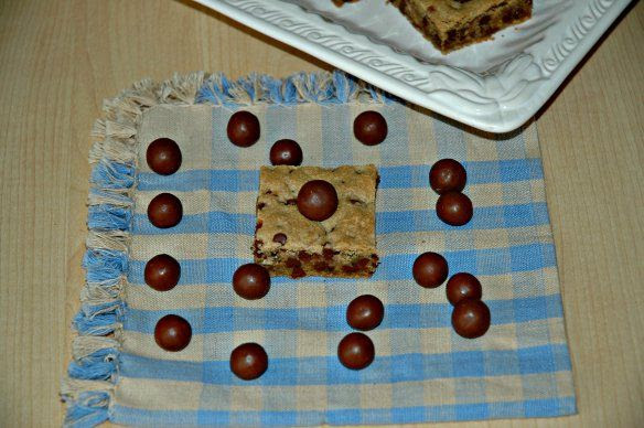 Malted Chocolate Chip Whopper Blondies