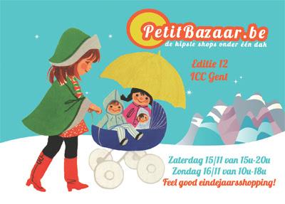 Petit Bazaar 12, 15&16 november 2014