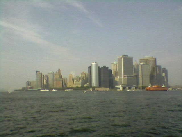 view of Lower Manhattan skyline