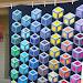 Optical Illusion Tumbling Blocks Quilt Pattern