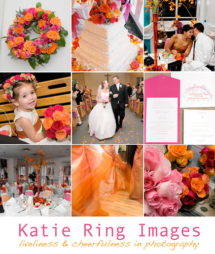 Invitations these set the tone for your wedding Mine were orange on the