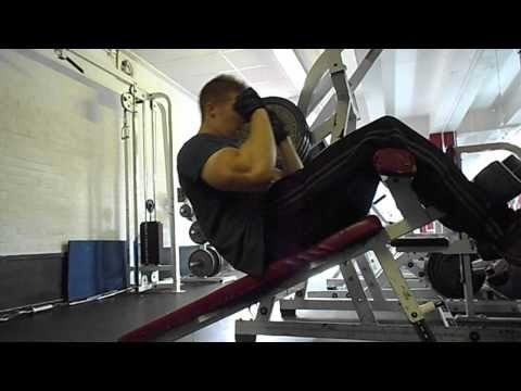 incline stomach crunch abs bodybuilding training  abs