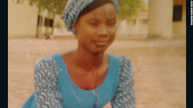 Maida Yakubu was kidnapped from her school in Chibok, Nigeria, by Boko Haram militants.