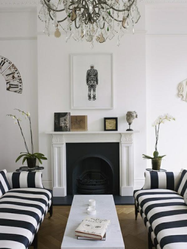 Schwarz – Weiß in Streifen - der Kontrast, der immer im ...