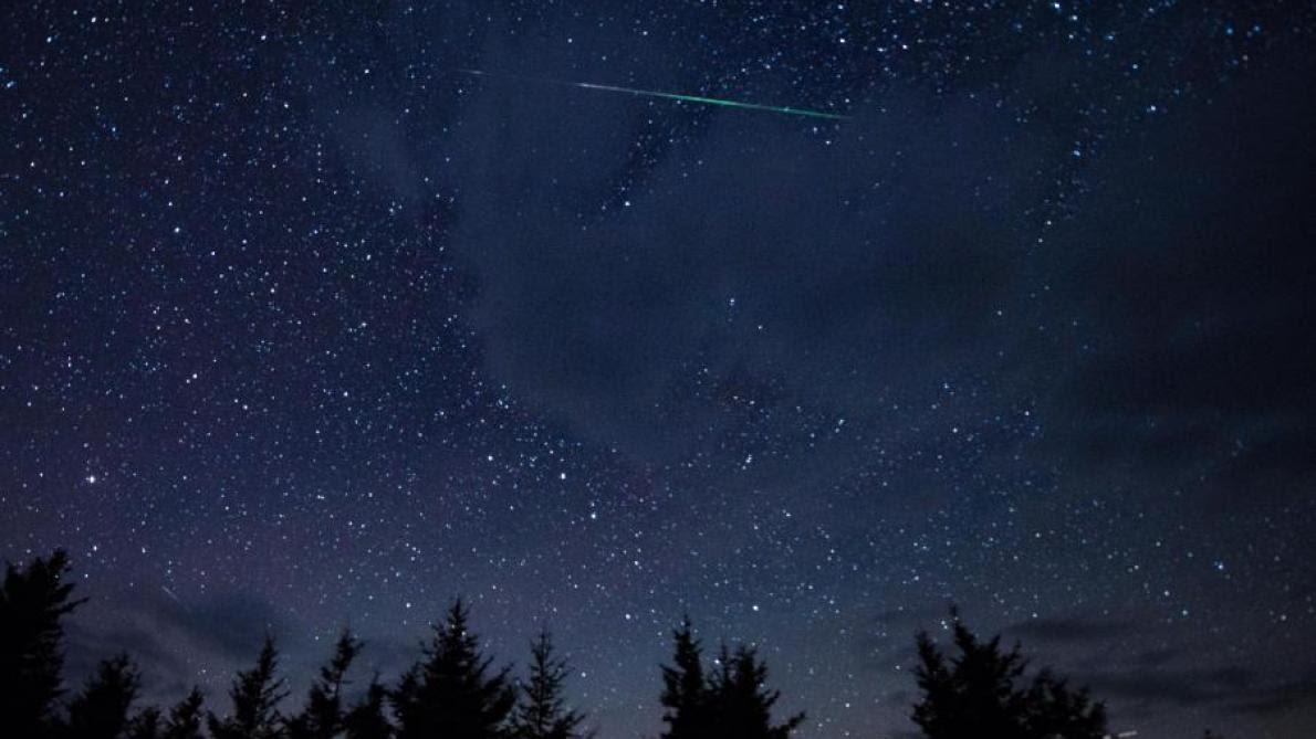 Des étoiles Filantes Déjà Visibles Cette Nuit Dans Le Ciel