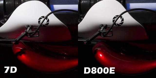 7D Vs D800E