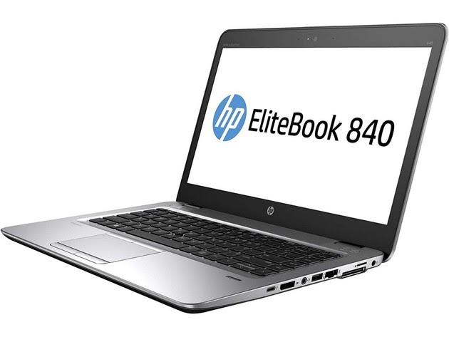 "HP EliteBook 840G2 Laptop Computer, 1.60 GHz Intel i5 Dual Core Gen 5, 16GB DDR3 RAM, 128GB SSD Hard Drive, Windows 10 Professional 64 Bit, 14"" Screen (Renewed) for $475"