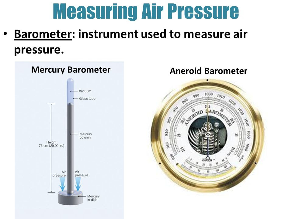 30 Measuring Instrument Used For Air Pressure