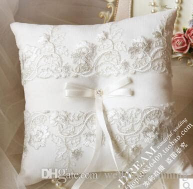 2019 2015 Wedding Ring Pillows Put The Pillow In The