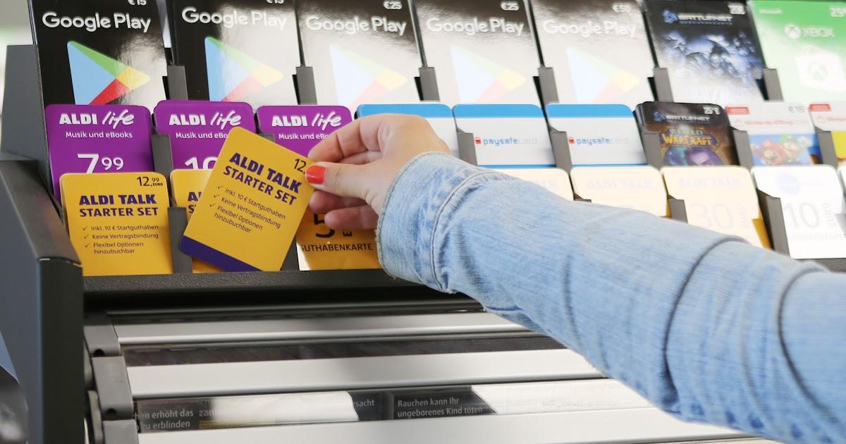 Nano Sim Karte Aldi.Aldi Talk Karte Kaufen Karte