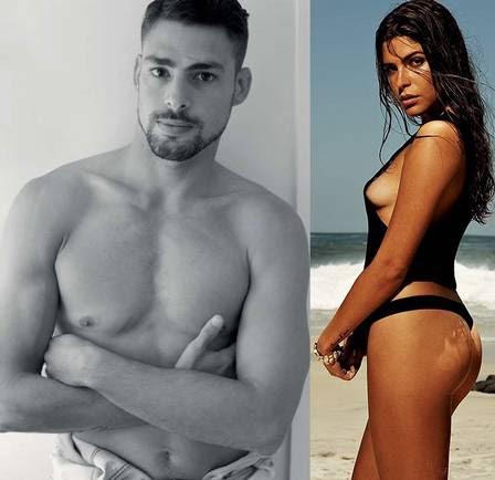 Cauã e Mariana Goldfarb estão juntos há três meses
