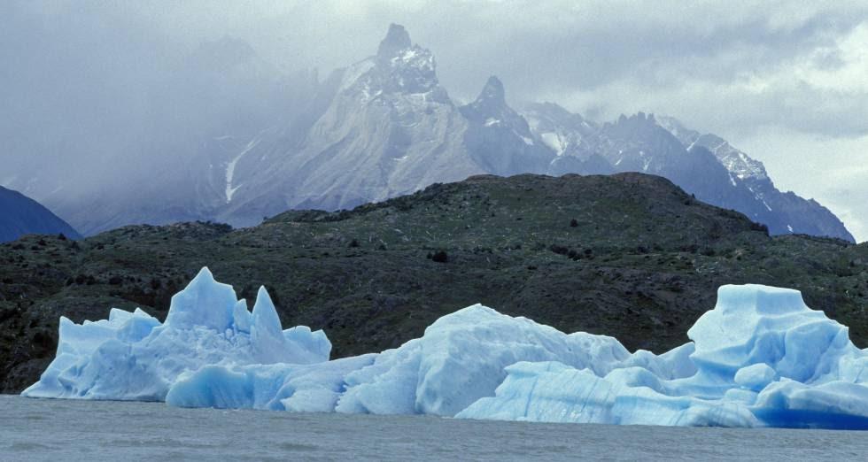 Glaciares en Chile.