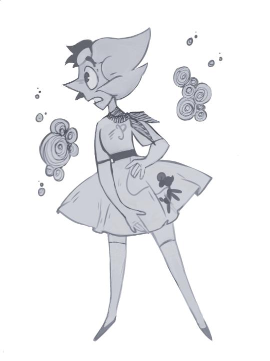 sure why not! cute gal in a cute dress
