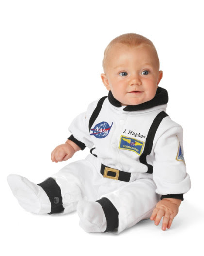 Personalized Astronaut Costume for Baby