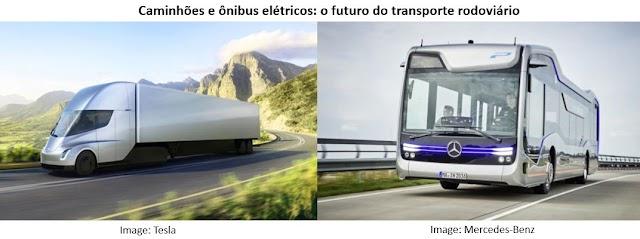 Mais carros, caminhões e ônibus elétricos e menos subsídio ao diesel