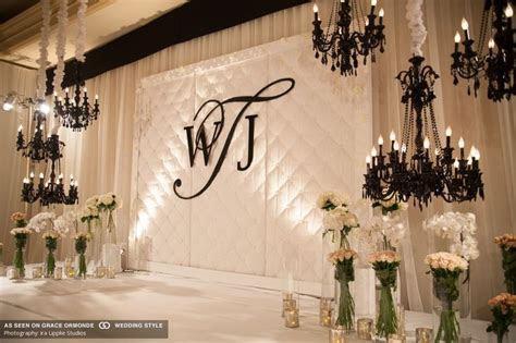 pasadena wedding with luxury decor california real couple