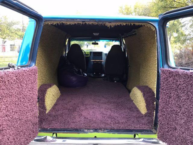 1980 Chevy Shorty G15 Van Scooby Doo Mystery Machine