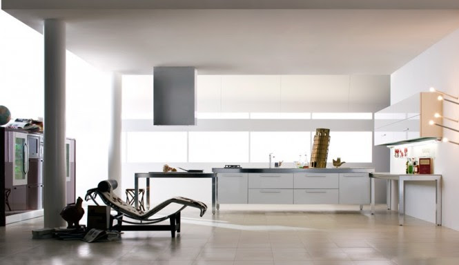 White kitchen decor scheme