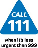 Image of the NHS 111 logo