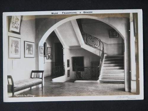 vintage postcards - musee fragonard 004