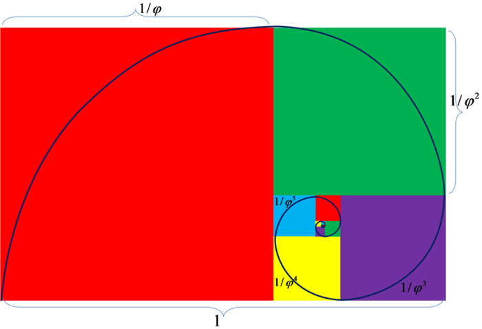 Golden Ratio Spiral Picture - Free Math Photos & Images
