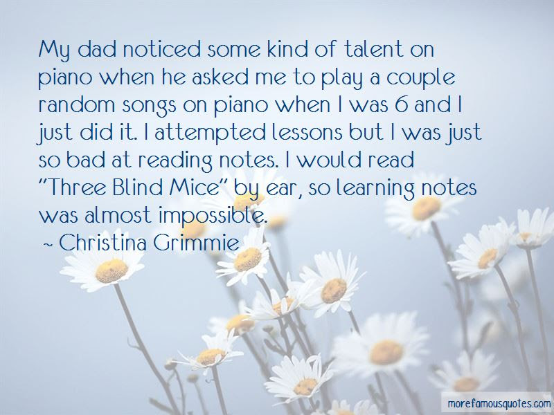 3 Blind Mice Quotes Top 10 Quotes About 3 Blind Mice From Famous